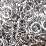 Bright Aluminum Jump Rings